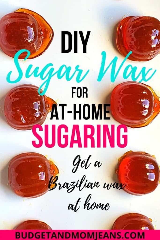 Homemade Hard Sugar Wax | Sugaring | How To Wax At Home